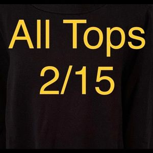 Tops - Tops are2/15